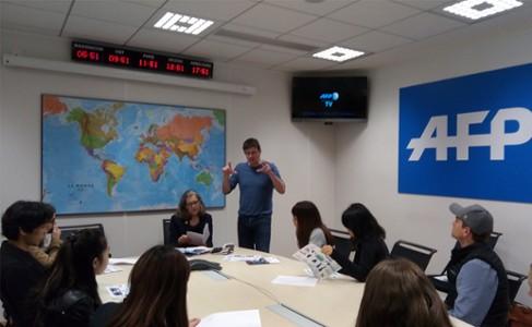 Visite au cœur de l'Agence France Presse (AFP)